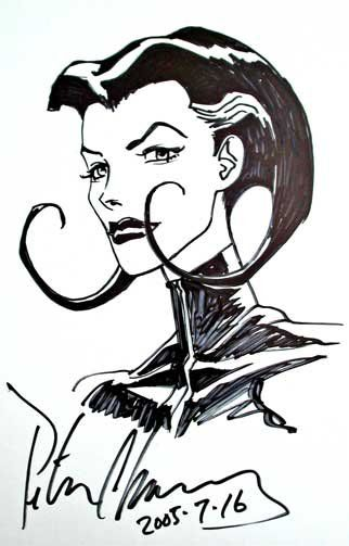 Peter Chung Sketch