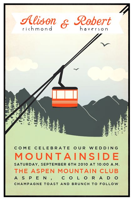 1000 Images About Ski Themed Wedding On Pinterest
