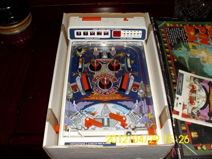 atomic arcade pinball machine