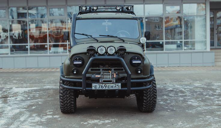 УАЗ 3153-0 бампер