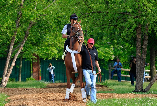 I'll have another!  Can he win the Preakness today?
