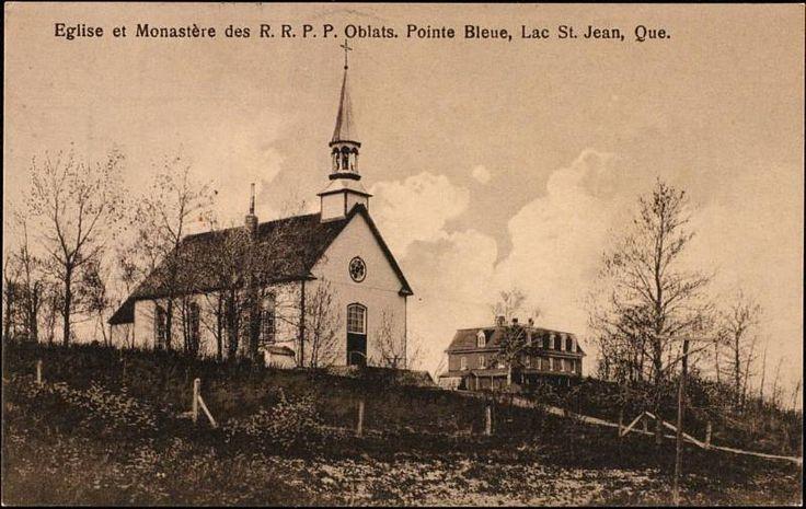 Église et Monastère des Oblats, Pointe Bleue
