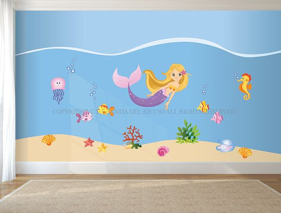 Adesivi murali bambina  Wall decals girl Wall stickers