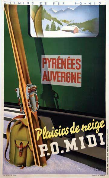Plaisirs de Neige - Pyrénées & Auvergne     1936