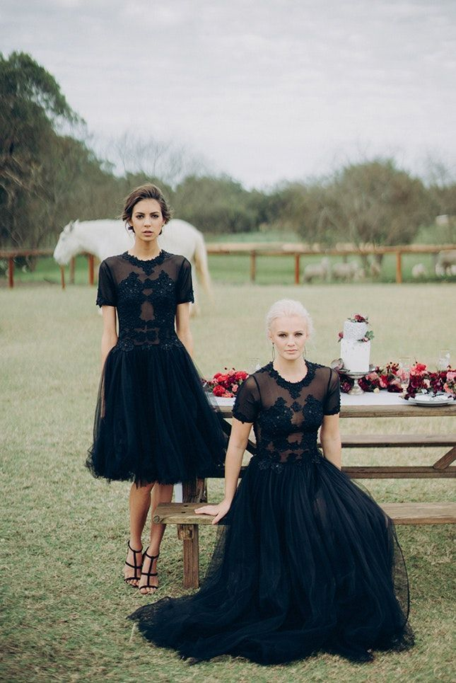 Black Bridesmaid Dresses Halloween Wedding Decor Black Bridesmaid Dresses Black Wedding Dresses Halloween Wedding Dresses
