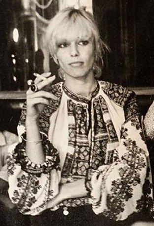 the style of Anita Pallenberg .. 70s