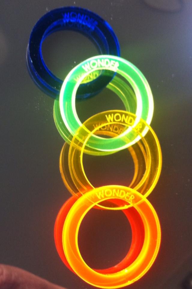 """Rings """"Wonder"""" in Plex / flou Summer 013"""