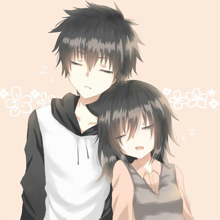 Картинки братик и сестричка аниме