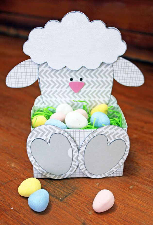Easter Belly Boxes with Kathy » A Silhouette project - Lori Whitlock