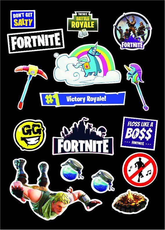Kids Fortnite Battle Royale Emotes Signs In Game Objects