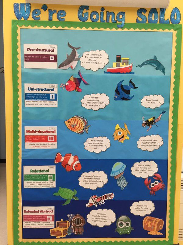 """Year 3&4 PDCS on Twitter: """"Years 3&4 are 'going solo', aiming for deeper thinking and learning. #SOLOTaxonomy #VisibleLearning https://t.co/NebGdBke6V"""""""