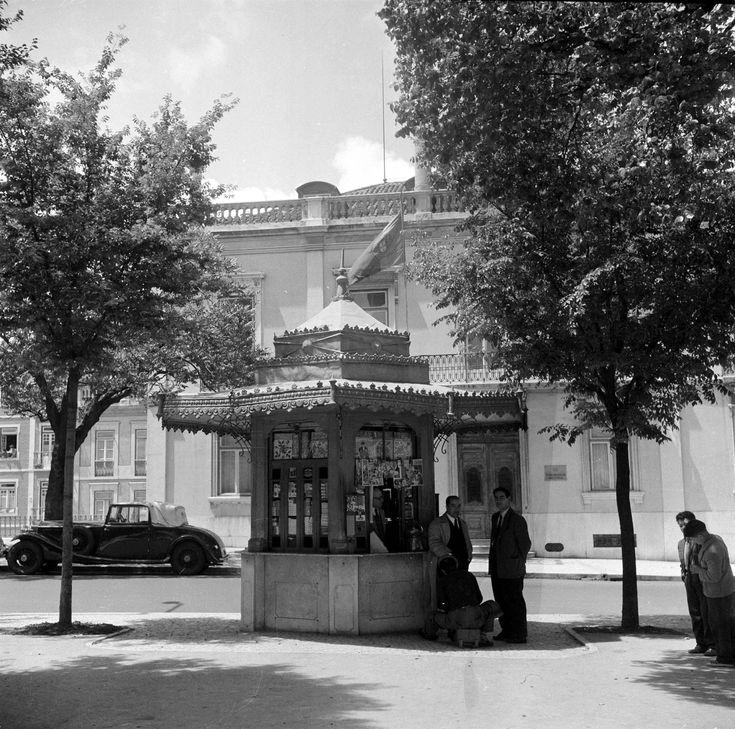 Quiosque do Príncipe Real, 1959
