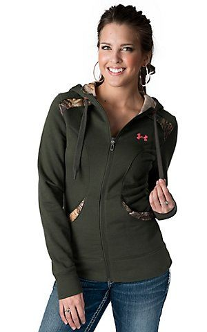 Under armour camo hoodie women