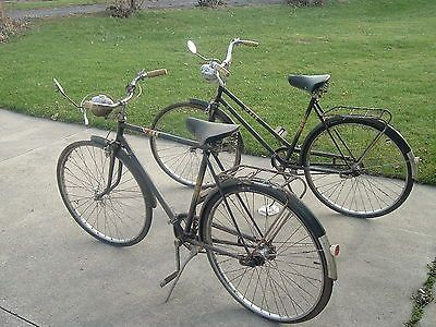 "His and Hers 26"" Sears & Roebuck Vintage Bicycles Parts or Restore ""ohio"""