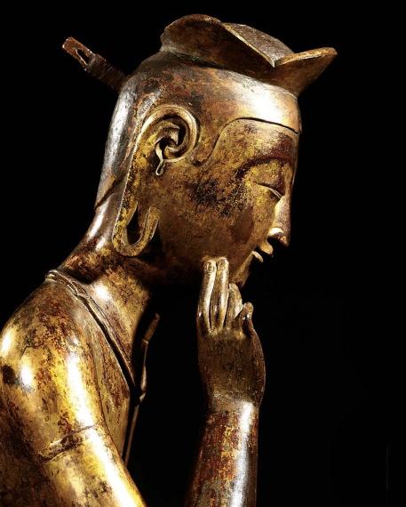 Pensive Bodhisattva Period/Date: Three Kingdom Period, Early 7th century