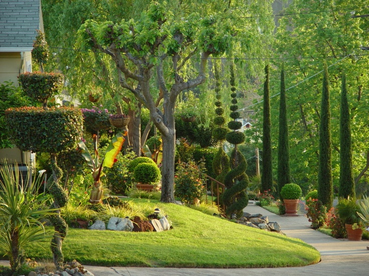 Amazing front yard backyard pinterest gardens for Amazing front yard landscaping