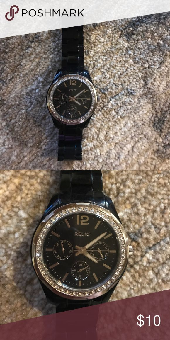 Relic watch Black relic watch for sale Relic Accessories Watches