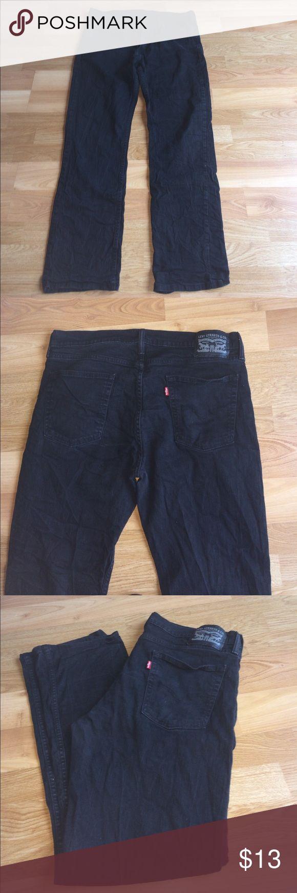Levi strass & co jeans Black levis jeans Levi's Jeans Straight