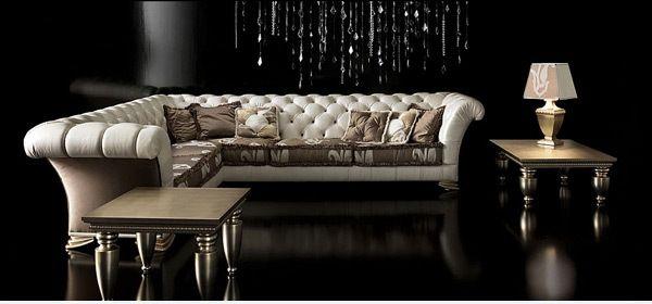 Barokk inspirálta kanapé