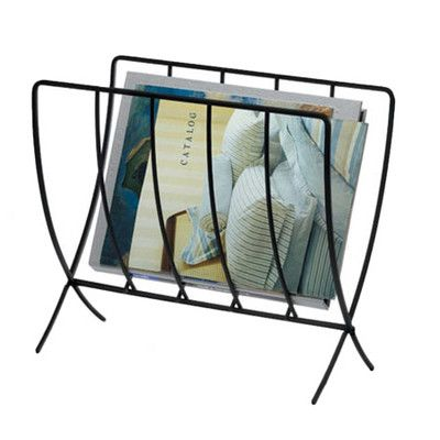 Features:  -Folds inward for easy storage when not in use.  -Contemporary design will compliment any home or office decor.  -Heavy-gauge steel construction.  -Electrostatically painted finish.  -Color