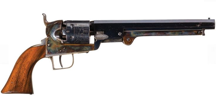 Belgian Copy of Colt Model 1851 Navy Percussion Revolver.