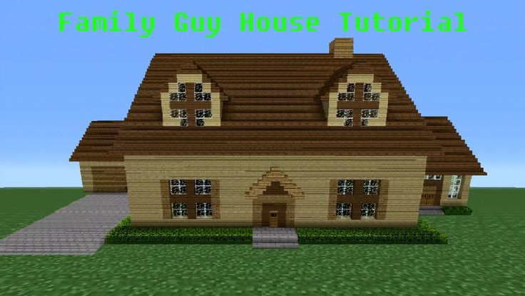 Minecraft Tutorial  How To Make The  Family Guy  House   minecraft videos    Pinterest   Family guy  Tutorials and Minecraft videos. Minecraft Tutorial  How To Make The  Family Guy  House   minecraft