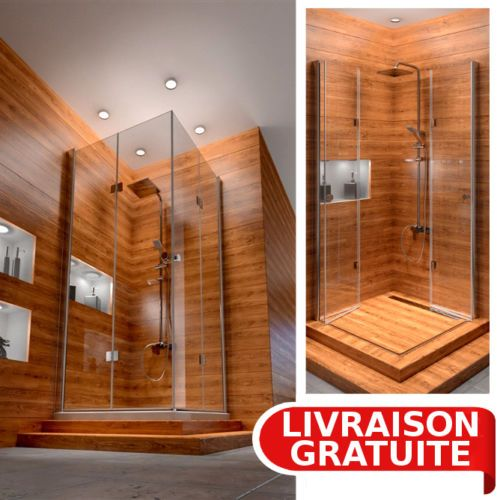 1000 ideas about cabine de douche integrale on pinterest shower stalls do - Cabine de douche integrale 90x90 ...