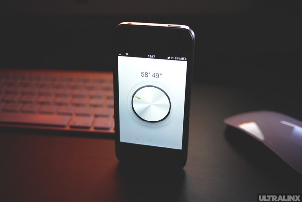 Minimalist Timer for iPhone