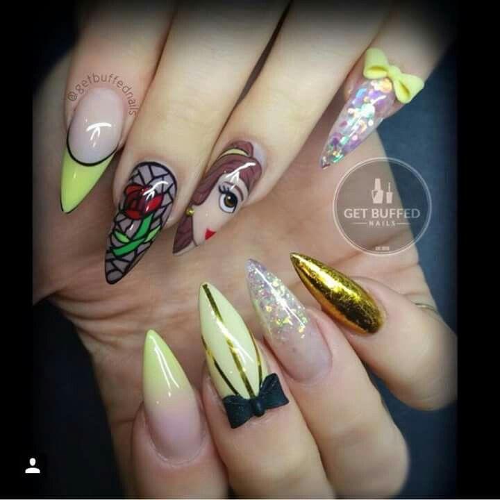 Nail La Belle: Get Buffed Nails Belle Disney