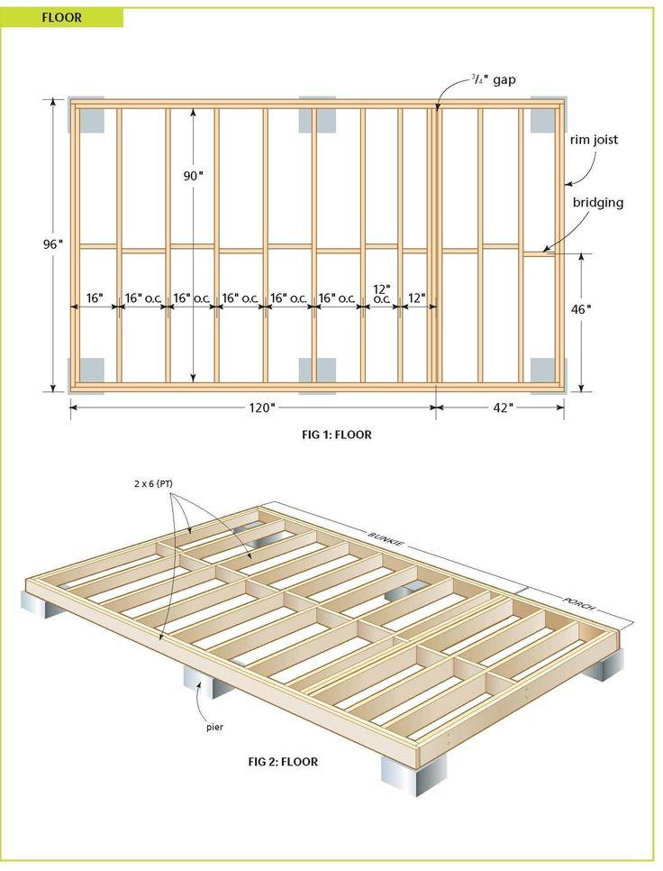 Free Cabin Plans Construction Blueprints Woodworking
