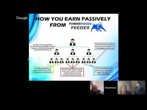 Powerhouse Network Hangout Feeder & Revshare