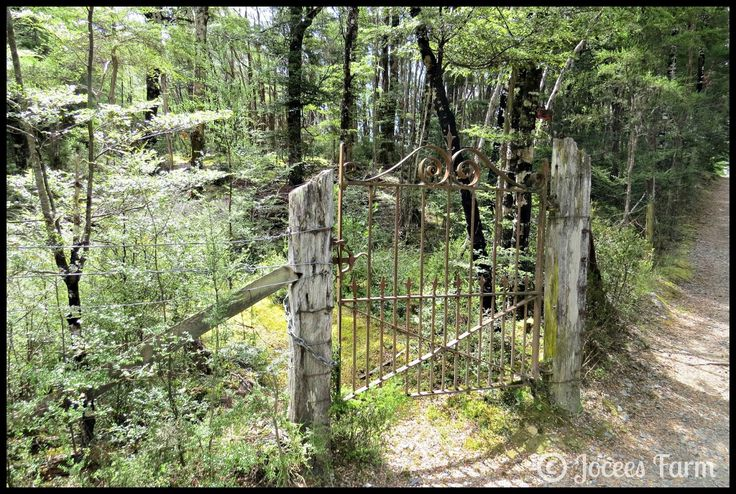 Gate to Nowhere, St Arnaud, New Zealand  http://joceesfarm.blogspot.co.nz
