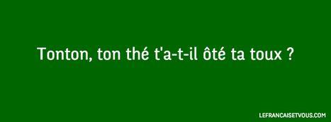 Un virelangue (tongue-twister) est une phrase... | Le français et vous | Scoop.it