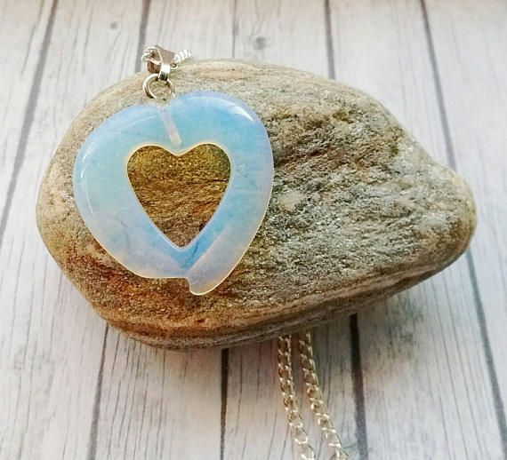 Check out this item in my Etsy shop https://www.etsy.com/uk/listing/552720560/opalite-necklace-heart-necklace