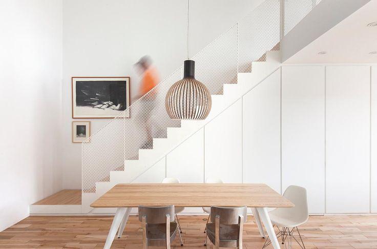 Garde corps, simplicité escalier