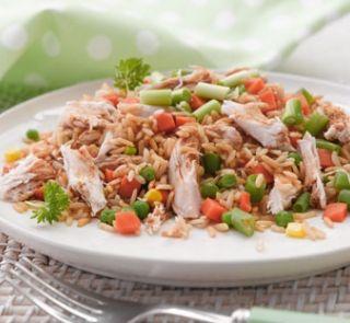 10 minute chicken fried rice