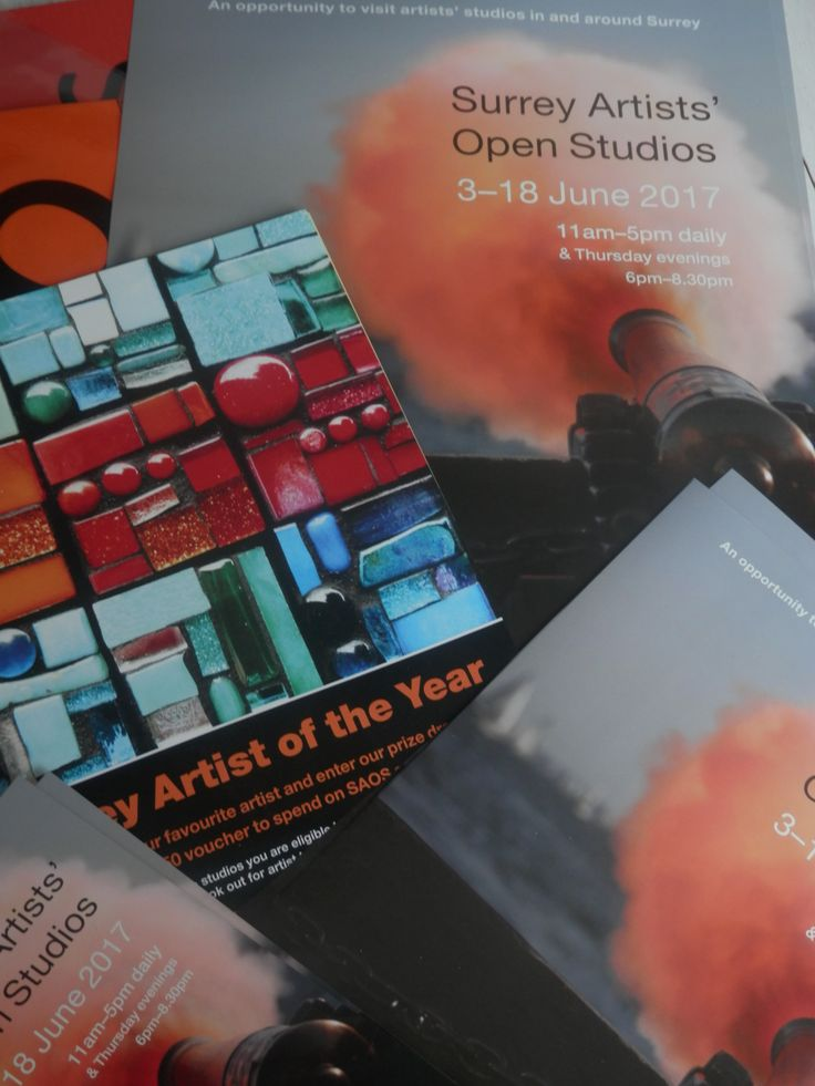 Surrey Artists' Open Studios 2017 - come and see artists at work across Surrey.  My own studio in Merstham is open 11am - 5pm Saturday/Sunday 3rd/4th, 10th/11th and 17th/18th June 2017 - see www.carolineskinnerart.co.uk for directions or look on website below for Caroline Skinner