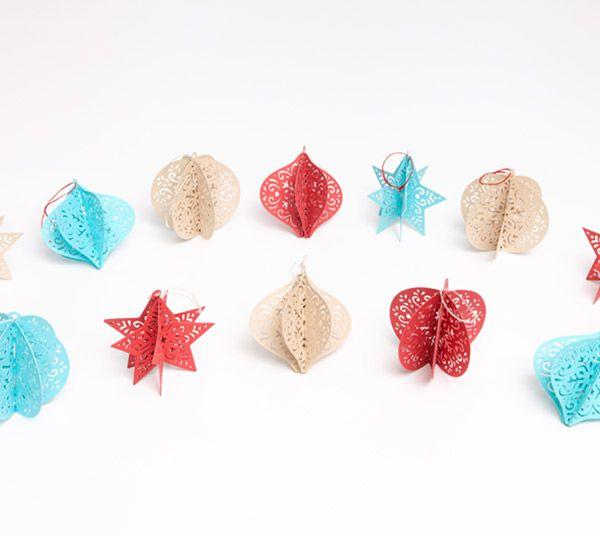 Project Center - 3D Christmas Ornaments