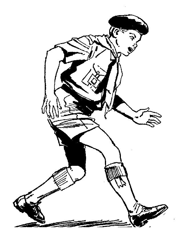 free coloring pages boy scouts - photo#40
