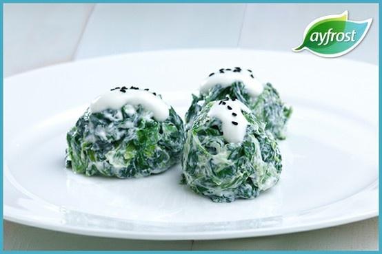 Ispanaklı Borani - #ayfrost #ispanak #tarif #dogal #tazedondurulmus #kullanimahazir #pratik #kolay #lezzetli #saglikli #spinach #recipe #natural #freshfrozen #readytouse #easy #delicious #healthy