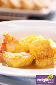 Fish Stew (Bouillabaisse) Recipe. #HealthyRecipes #DietRecipes #WeightLoss #WeightlossRecipes weightloss.com.au