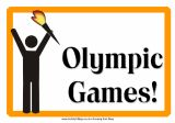Olympic themed party for kids: indoor & outdoor games, snacks, prizes, and more!