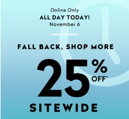 Addition Elle Canada Flash Sale: Save 25% Off Everything Sitewide with Promo Code Today http://www.lavahotdeals.com/ca/cheap/addition-elle-canada-flash-sale-save-25-sitewide/134698