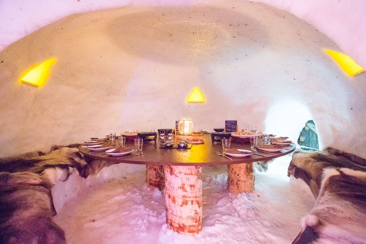 Doen: overnachten in een iglo bij La Plagne, Franse Alpen / Overnight stay in an igloo, La Plagne, French Alps