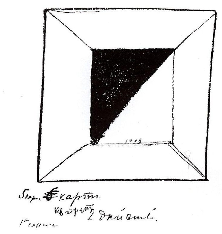 Square by Kazimir Malevich #suprematism
