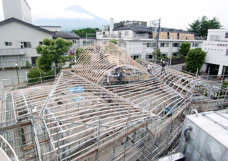 Toranoko Nursery Laminated Veneer Lumber Roof | Architect Magazine | Engineered Wood, Wood, Detail