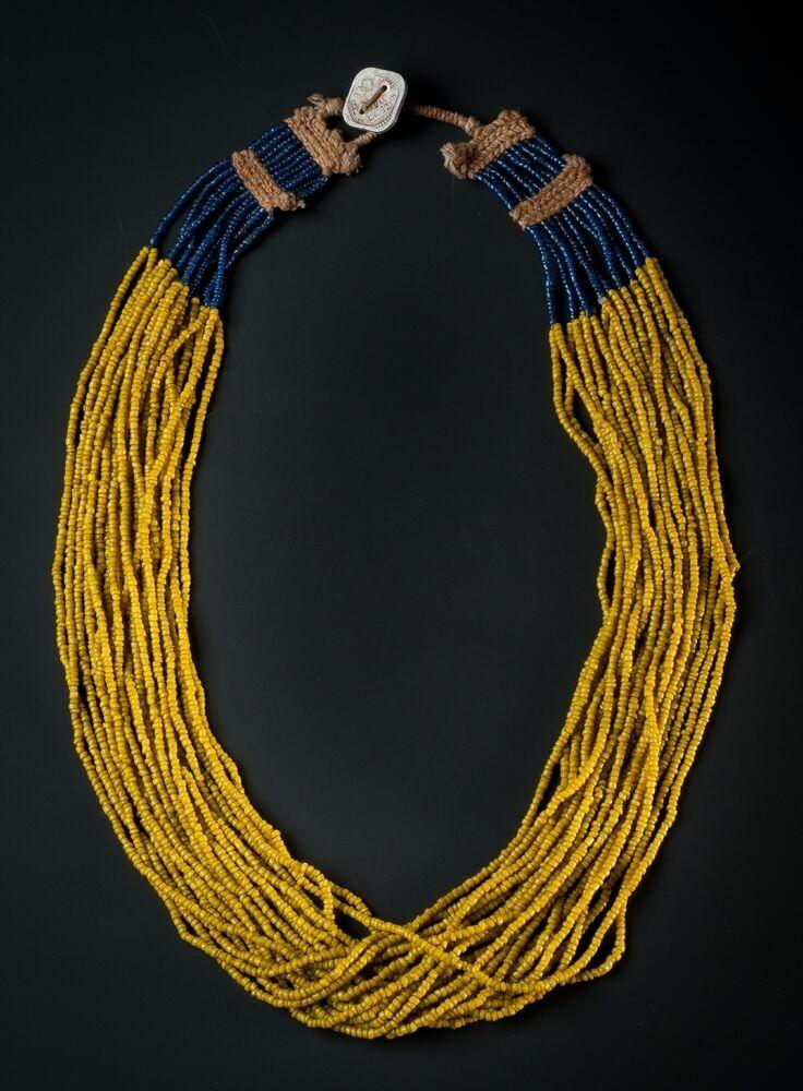 Collier aus Rocailles Perlen