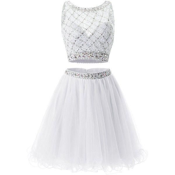 Shy girl black and white dress