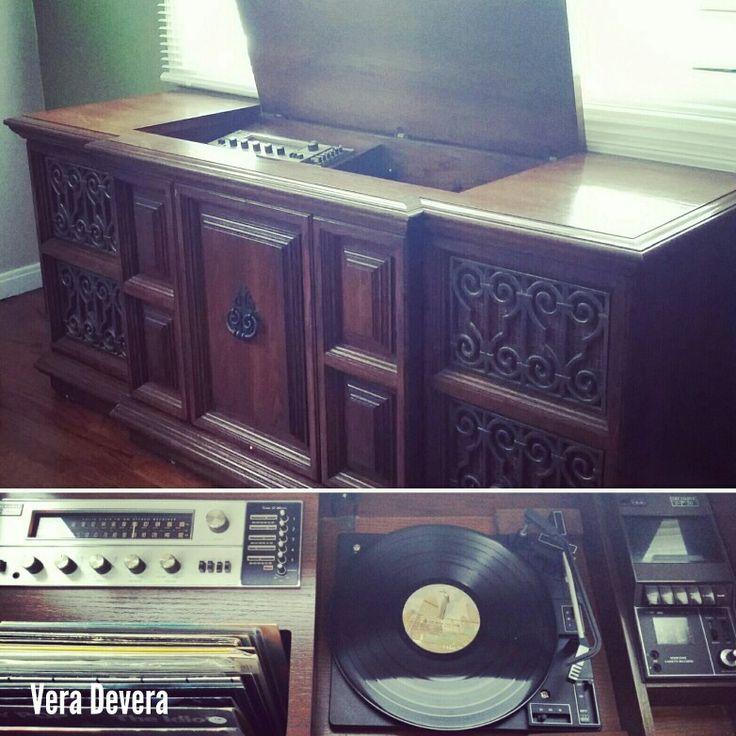 Fisher Statesman S 694 Hifi Stereo Console Vintage