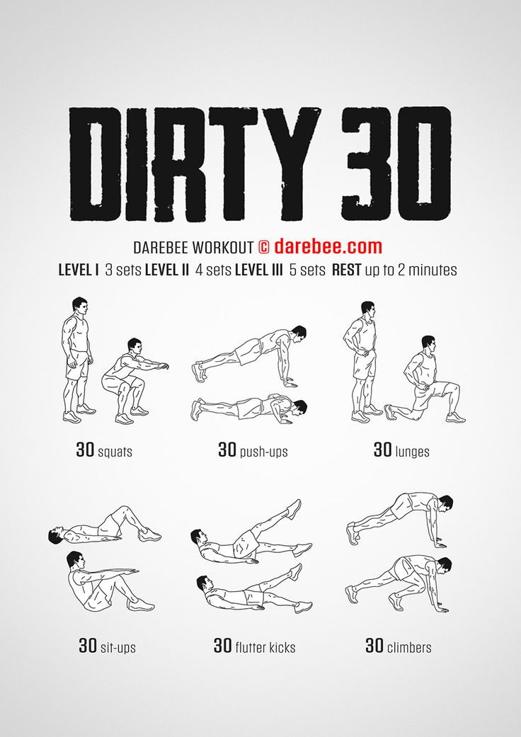 Darebee Dirty 30: Full body, strength